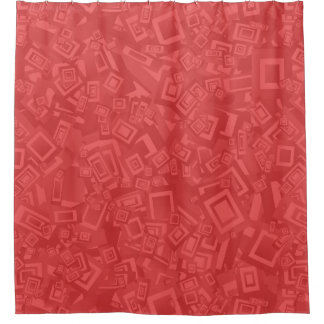 Modern Contemporary Abstract Red  Pattern