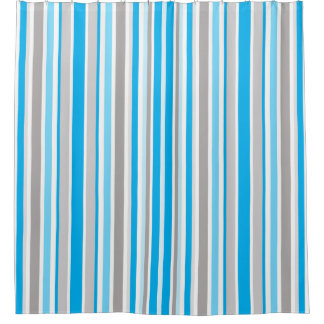 Modern Contemporary Blue Stripe Pattern