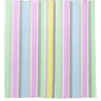 Modern Contemporary Pastel Stripe Pattern