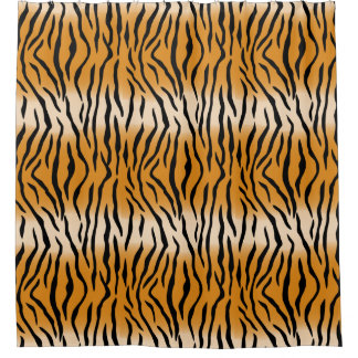Modern Contemporary Tiger Pattern