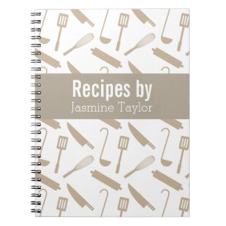 Modern Cooking Utensils Recipe Cook Book