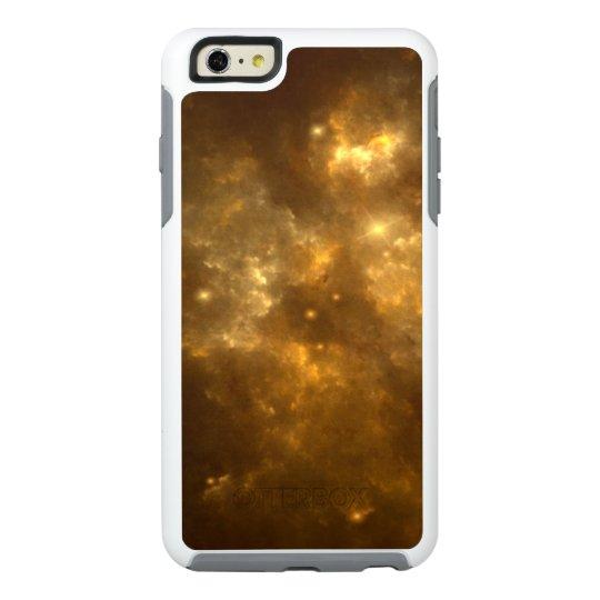 Modern Cool Beautiful Gold Nebula, Stars & Space - OtterBox iPhone 6/6s Plus Case