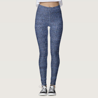 Modern cool blue denim jeans photo texture leggings