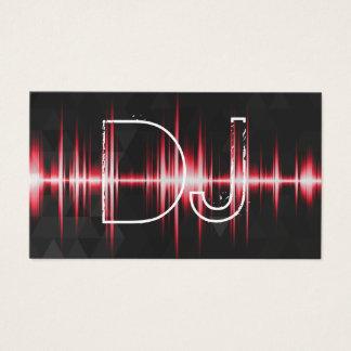 Modern Cool Professional DJ Business Card
