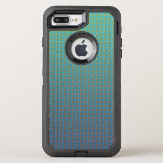 Modern Cool Unique Square Pattern OtterBox Defender iPhone 7 Plus Case
