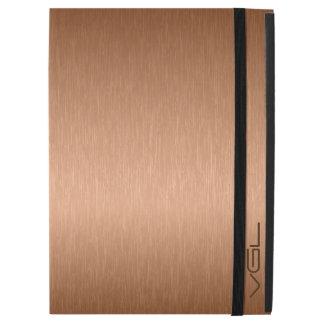 Modern Copper Tones Metallic Look Background