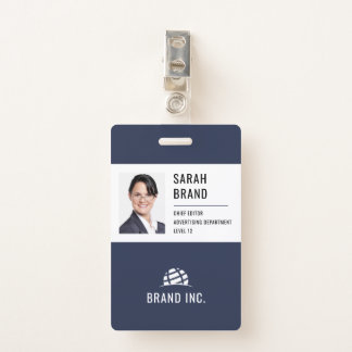 Modern Corporate Business ID Badge