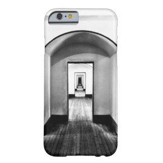 Modern Corridor Black & White Photo Pattern Barely There iPhone 6 Case