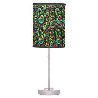 Modern Crazy Abstract Swirls Table Lamps