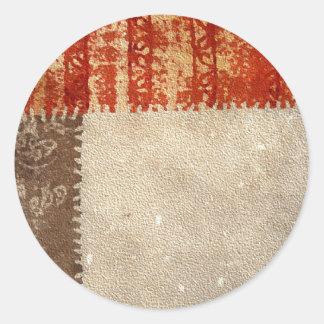 Modern Creative Abstract Round Sticker