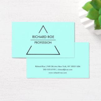 Modern Creative Cyan Professional Business Cards