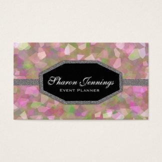 Modern Crystal Glitter Business Card