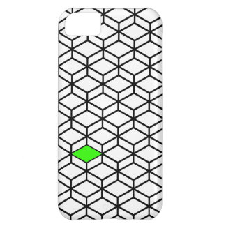 Modern Cube Illusion Cover For iPhone 5C