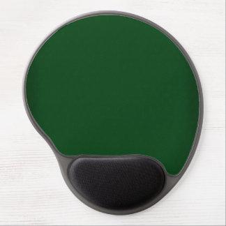 Modern Customizable Dark Green Gel Mouse Pad