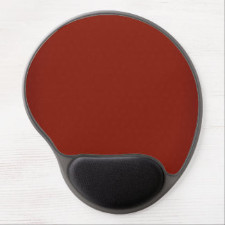 Modern Customizable Regal Red Gel Mouse Pad