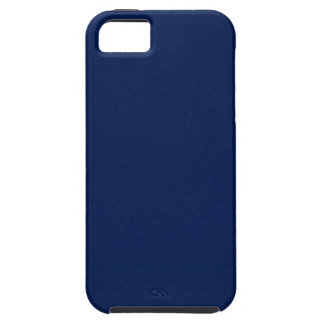 Modern Customizable Royal Navy Blue iPhone 5 Cases