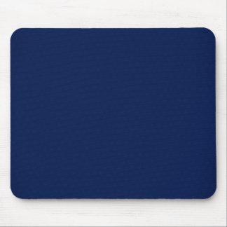 Modern Customizable Royal Navy Blue Mouse Pad