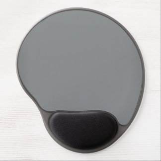 Modern Customizable Sleek Silver Gel Mouse Pad
