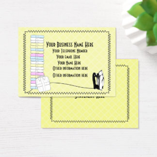 Modern Cute Laundry Ironing Services  Business Car Business Card