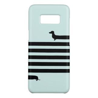 Modern Dachshund silhouette Case-Mate Samsung Galaxy S8 Case
