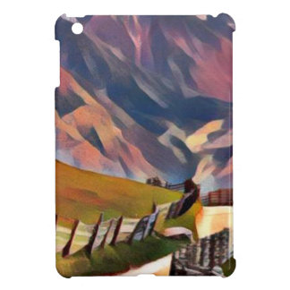 modern, dadaism,digital,painting,colorful,norway case for the iPad mini