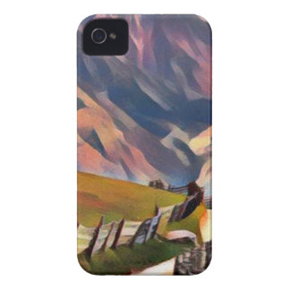 modern, dadaism,digital,painting,colorful,norway iPhone 4 cases