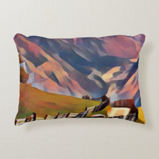modern, dadaism,digital,painting,colorful,norway,n accent pillow