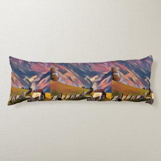 modern, dadaism,digital,painting,colorful,norway,n body pillow