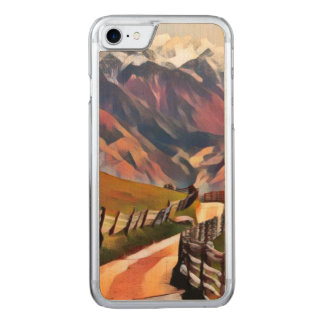 modern, dadaism,digital,painting,colorful,norway,n carved iPhone 8/7 case