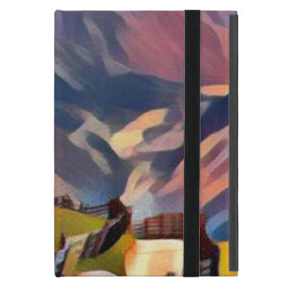 modern, dadaism,digital,painting,colorful,norway,n case for iPad mini