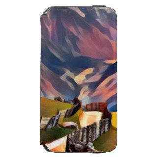 modern, dadaism,digital,painting,colorful,norway,n incipio watson™ iPhone 6 wallet case