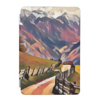modern, dadaism,digital,painting,colorful,norway,n iPad mini cover