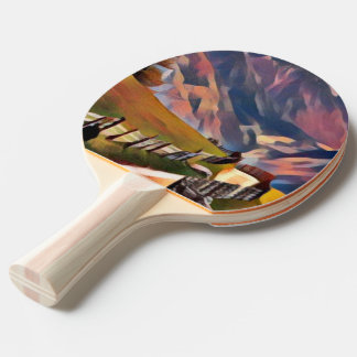 modern, dadaism,digital,painting,colorful,norway,n ping pong paddle