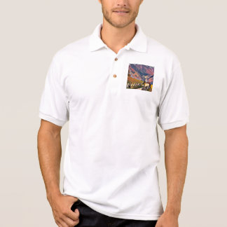 modern, dadaism,digital,painting,colorful,norway,n polo shirt