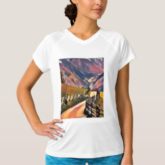 modern, dadaism,digital,painting,colorful,norway,n T-Shirt