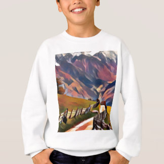 modern, dadaism,digital,painting,colorful,norway sweatshirt
