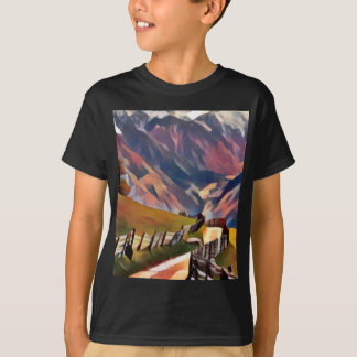 modern, dadaism,digital,painting,colorful,norway T-Shirt