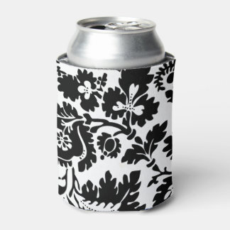 Modern Damask William Morris Can Cooler