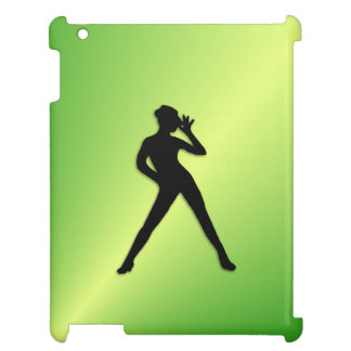 Modern Dance Green iPad Case