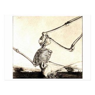 Modern Dance Macabre postcard