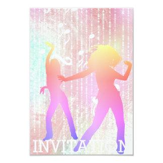 Modern Dancer Disco Club Urban Club Vip Invitation