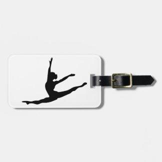 Modern Dancer Luggage Tag