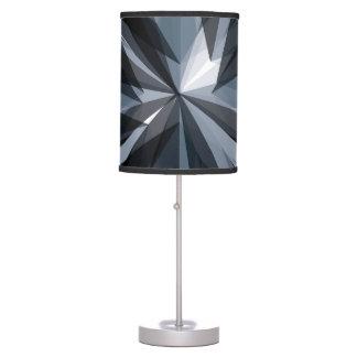 Modern Dark Graphic Patterned Lamp