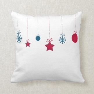 Modern Decorative Christmas Ornament Throw Pillow