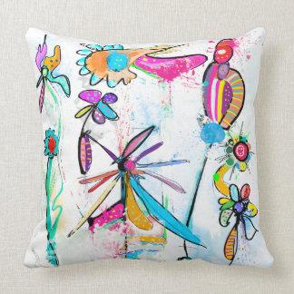 Modern decorative cushion, Alice' S Garden II Throw Pillow
