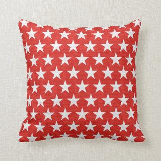 Modern Decorative Vintage Retro Stars Throw Pillow