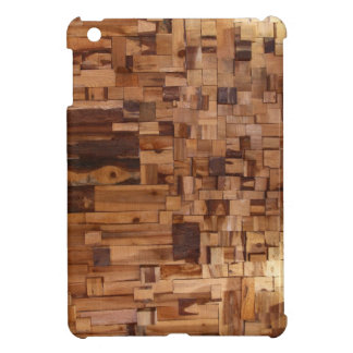 Modern Decorative Wood Bricks iPad mini Case