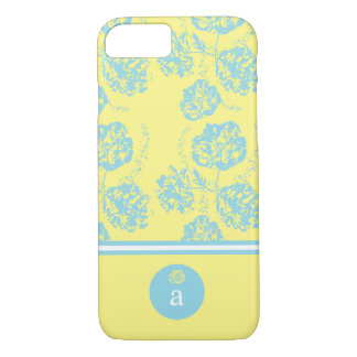 Modern, Delicate Blue Floral iPhone 8/7 Case