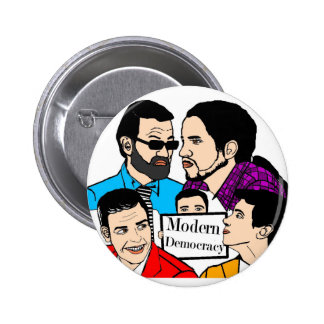 Modern Democracy 2 Inch Round Button