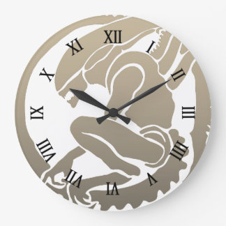 Modern design Alien wall clock